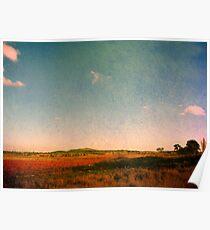 Dangars Lagoon, Northern Tablelands, NSW, Australia Poster