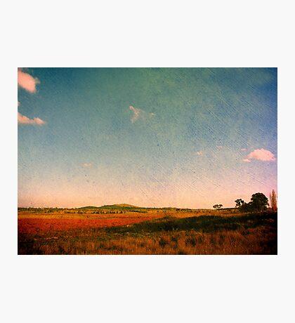 Dangars Lagoon, Northern Tablelands, NSW, Australia Photographic Print