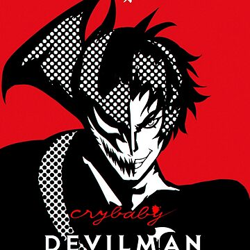 DEVILMAN CRYBABY - poster  by DarkChild