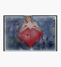 I've Got A Red Hot Heart Photographic Print