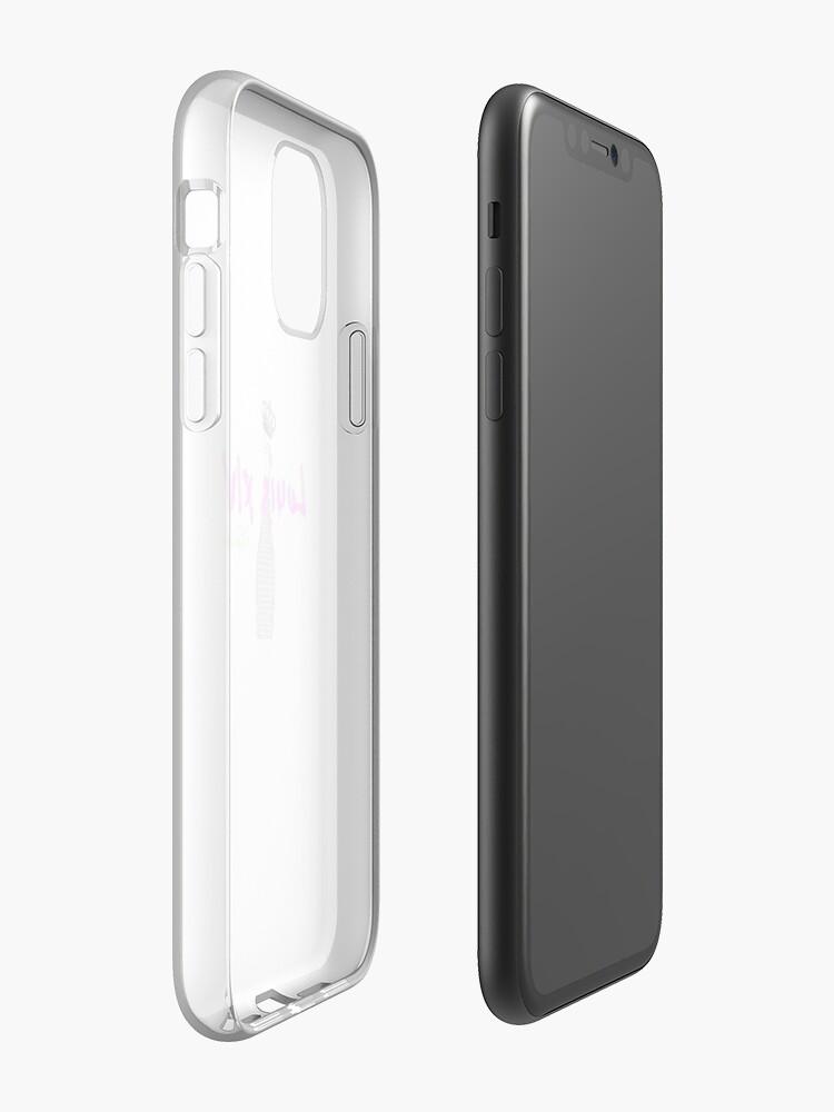 iphone 8 plus bleu , Coque iPhone «Bouteille Louis XIV», par jdigital92000