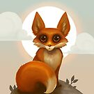 Rosy Red Fox by Alyssa May