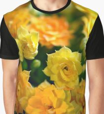 Tiny Yellow Flowers Graphic T-Shirt