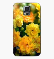 Tiny Yellow Flowers Case/Skin for Samsung Galaxy