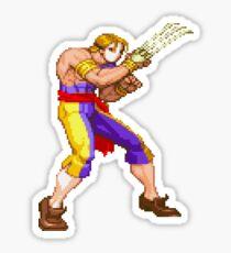 Street Fighter Alpha - Vega Sticker