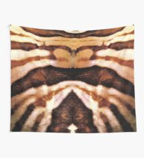 brown pattern Wall Tapestry