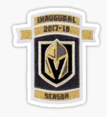 Inaugural Season Patch Sticker