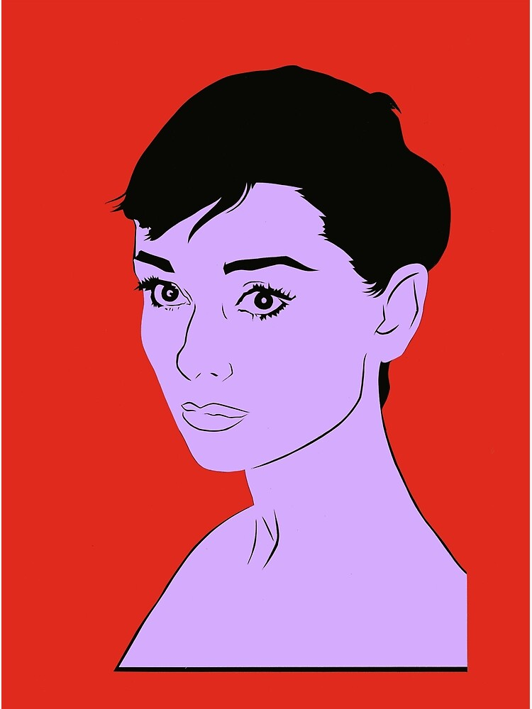 Audrey Hepburn by richackoon