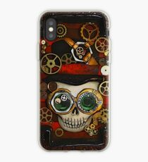 Steampunk Goggle Skull iPhone Case