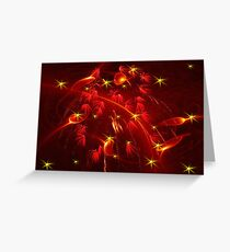 Fire Sprites Greeting Card