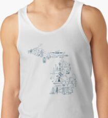 Michigan Outdoor Collection Tank Top