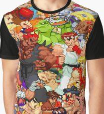 Street Fighter Alpha - Fight! Graphic T-Shirt