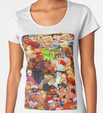Street Fighter Alpha - Fight! Women's Premium T-Shirt