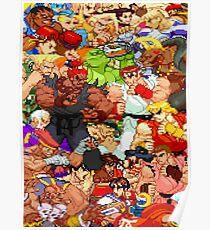 Street Fighter Alpha - Fight! Poster