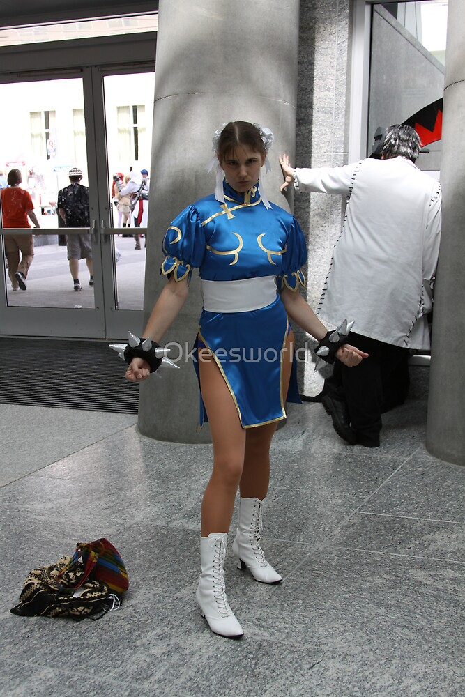 Chun Li means Business by Okeesworld