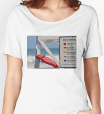 Surfboard Women's Relaxed Fit T-Shirt