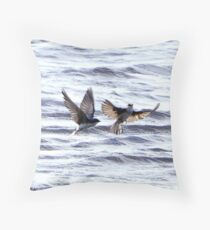 Water Birds (Special Effects)  Throw Pillow