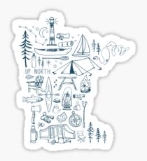 Minnesota Outdoor Collection Sticker