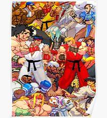 Street Fighter Third Strike - Fight! Poster