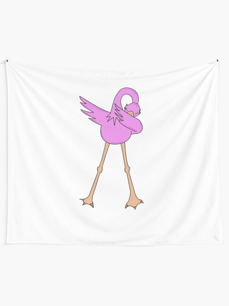 e89c49dfd Flamingo Animals Dancing Dab Dance | Dabbing Animal T-Shirt | Funny Dab  Dance Gift