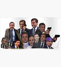Michael Scott Collage Poster