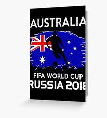 Australia World Cup 2018 Greeting Card