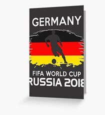 Germany Team World Cup 2018 Greeting Card