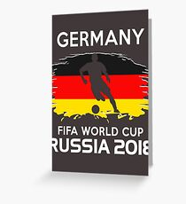 Germany World Cup 2018 Greeting Card