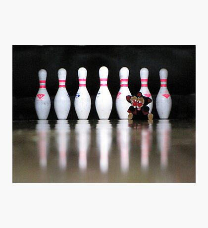 RnR Bowling w Zac ... strike or spare? Photographic Print