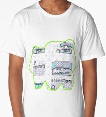 Grass Pallet Town Long T-Shirt