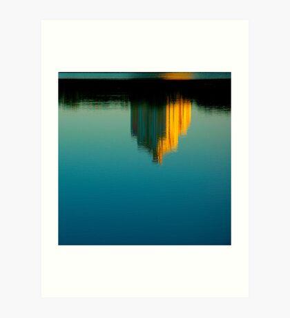 "City Life - ""Morning Reflection"" Art Print"