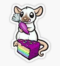 Cake Decorator Rat Sticker