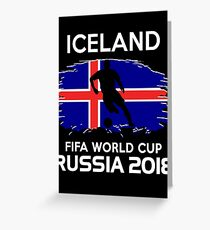 Iceland World Cup 2018 Greeting Card