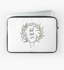 Best Dad Ever! // Olive Crown / Victory / Champion  Laptop Sleeve