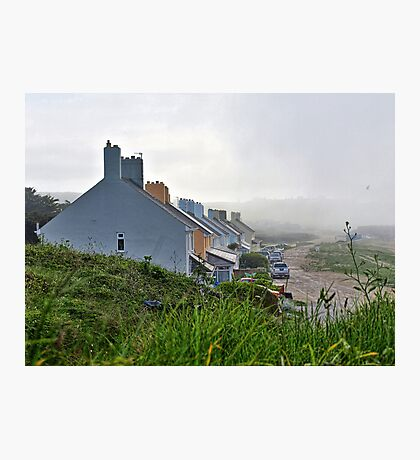 Heavy Fog Rolls in - Alderney Photographic Print