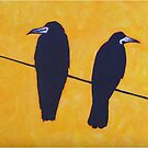2 Rooks, 1 Wire by eolai
