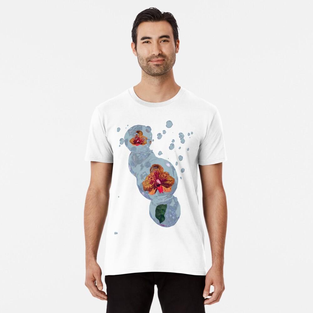 Wasser Orchidee Premium T-Shirt