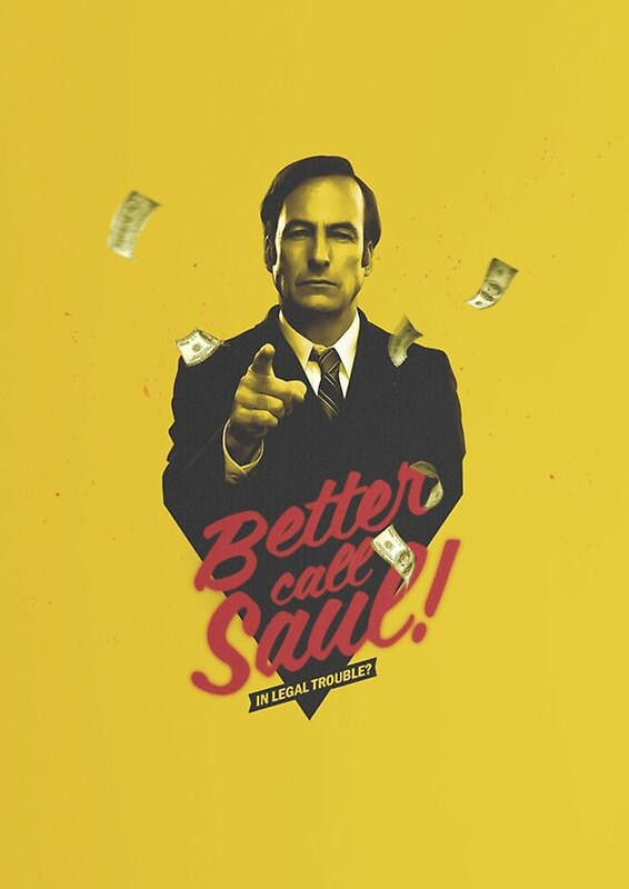 'Better Call Saul Yellow'  by BenjiEasy