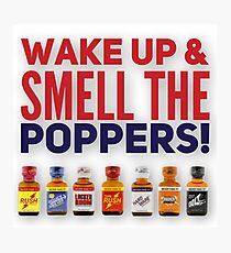 Poppers Photographic Print