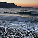 Kissamos Sunset on the Rocks by Kasia-D