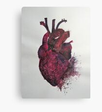 Tear in my Heart Canvas Print
