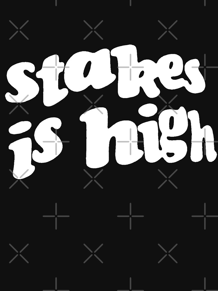 Stakes is High - De La Soul replica tour shirt by TheJBeez