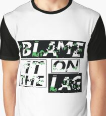 Blame it on the lag Graphic T-Shirt