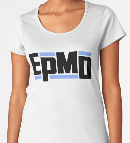 EPMD Unfinished Business LP PROMO REPLICA Premium Scoop T-Shirt