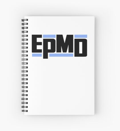 EPMD Unfinished Business LP PROMO REPLICA Spiral Notebook
