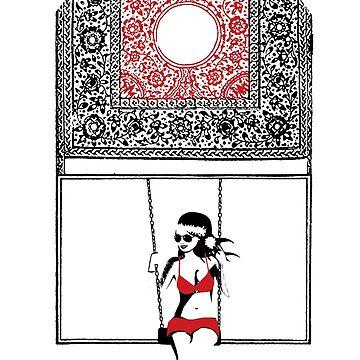 Lady Swing  by EraserStudio