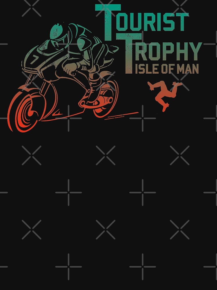 Isle Of Man TT Racing Tourist Trophy Races Classic Vintage Neon by thespottydogg