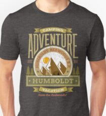 Humboldt National and State Redwoods Park Gifts and Apparel Unisex T-Shirt