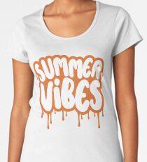 Summer Vibes - Melting Women's Premium T-Shirt