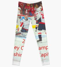 2018 Stanley Cup Champions Washington Capitals Leggings 0343a118f
